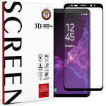 3D Full Tempered Glass Screen Protector - Samsung Galaxy S9+ (Black)